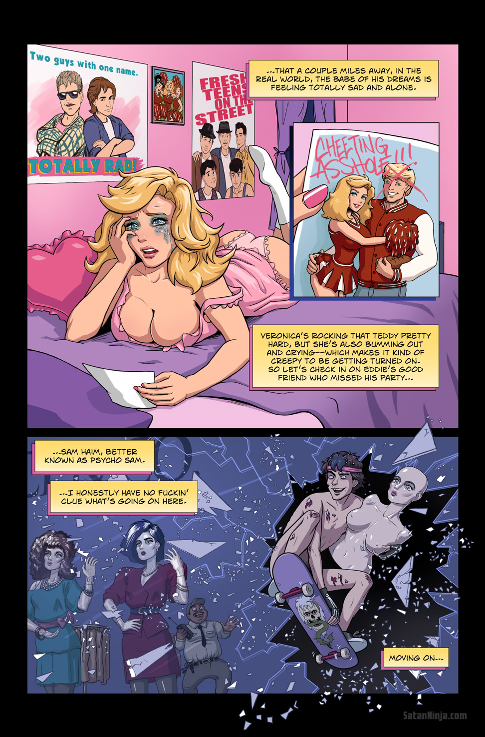Issue 1, Page 10 - Veronica & Sam