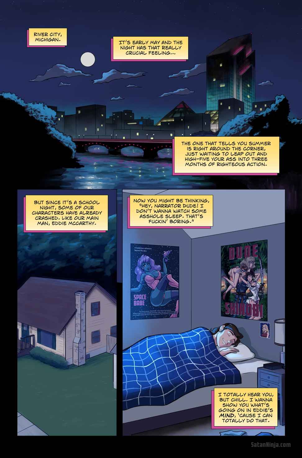 Issue 1, Page 8 - River City
