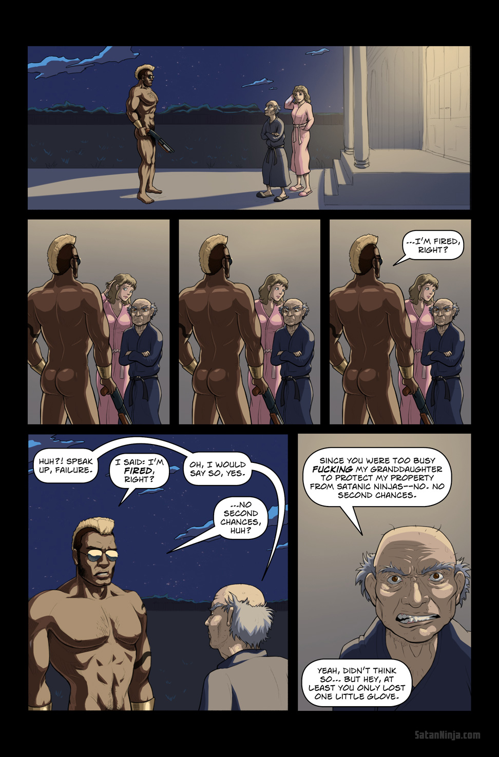 Issue 1, Page 21 - Viper & Mr. Moore