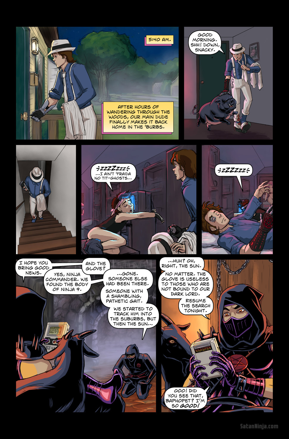 Issue 2, Page 30 - Home at Dawn