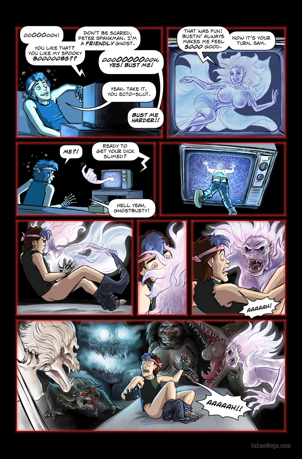 Issue 2, Page 28 - Watchin' Ghostbusties