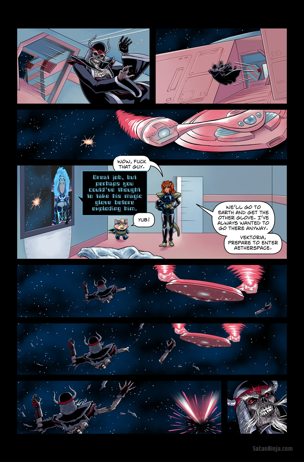 Issue 3, Page 7 - Exploding Bones